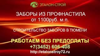 забор из профнастила Тюмень цена(, 2017-04-01T11:07:42.000Z)