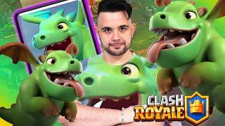 Clash Royale : Baby Dragon ... ma Quanto è Bello!