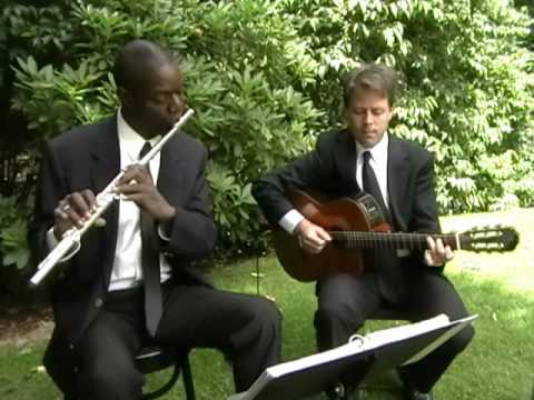 Wedding March (Mendelssohn)   (Flute & Guitar)