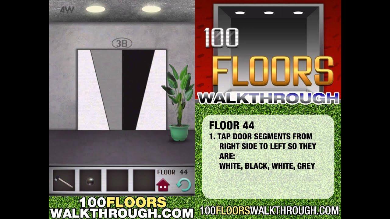 Floor 44 Walkthrough 100 Floors Walkthrough Floor 44