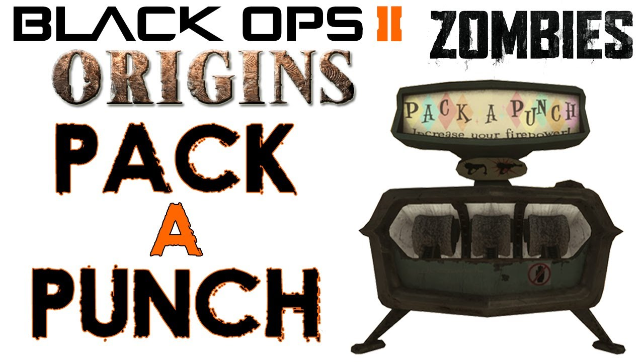 How To Pack A Punch Origins Tutorial Call Of Duty