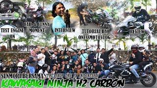 #32 Kawasaki Ninja H2 Carbon Di Indonesia | The Only One | Motovlogger Banua