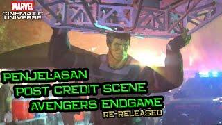 Penjelasan Post Credit Scene Avengers Endgame Re-Release | Deleted Scene dan Link ke Spider-Man