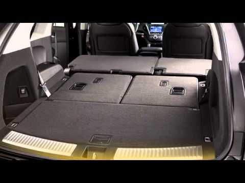 Third Row Seats and Cargo Area 2015 Acura MDX - YouTube