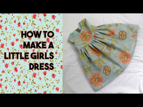 Making a Girls Dress (REMAKE) - FREE DRESS PATTERN - Craftbrulee