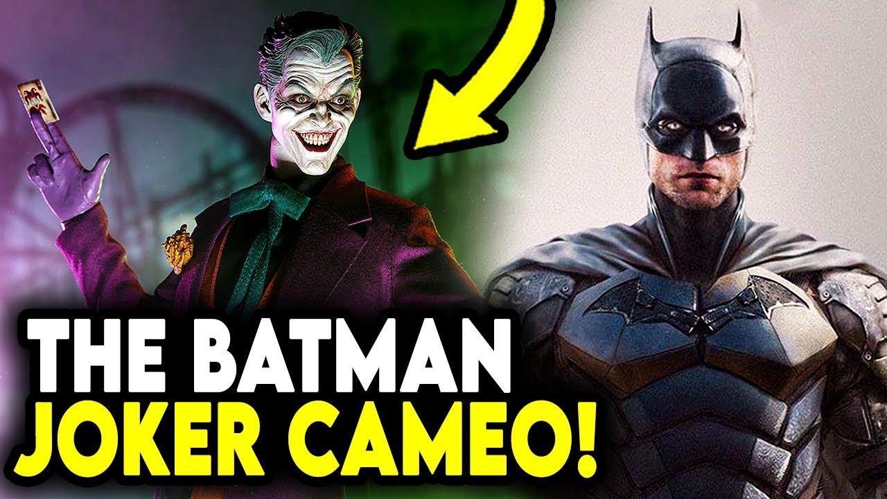 JOKER SCENE in The Batman 2021 & Larger Role Coming? - YouTube