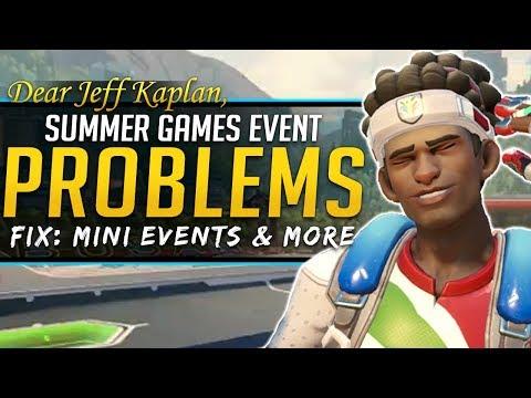 Overwatch Dear Jeff Kaplan - Summer Games 2018 Problems