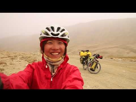 Exciting at 4,000 m (13,123ft ) above sea level in Pamir Highway