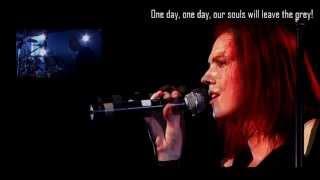 Flowing Tears Grey live, lyrics