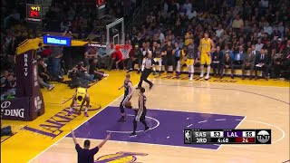 3rd Quarter, One Box Video: Los Angeles Lakers vs. San Antonio Spurs