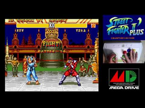 [4/4] STREET FIGHTER II DASH PLUS - CHAMPION EDITION(Genesis)