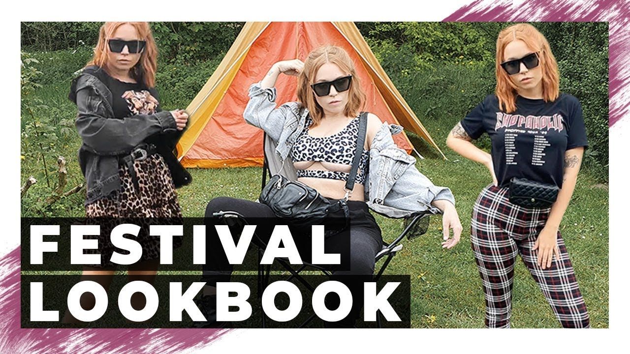 Grunge summer outfits | FESTIVAL LOOKBOOK | Outfit ideas 2019 (Samsung S10 plus & Zhiyun smooth 4) 9