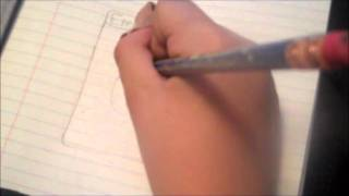 how to draw a water energy card