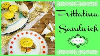 Frittatina Sandwich con Verdure - Speciale Menù di Natale
