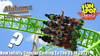New Gerstlauer Infinity Coaster Coming To The US In 2022 Where Could It Go?