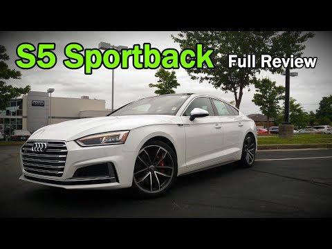 2018 Audi S5 Sportback: Full Review | Prestige & Premium Plus