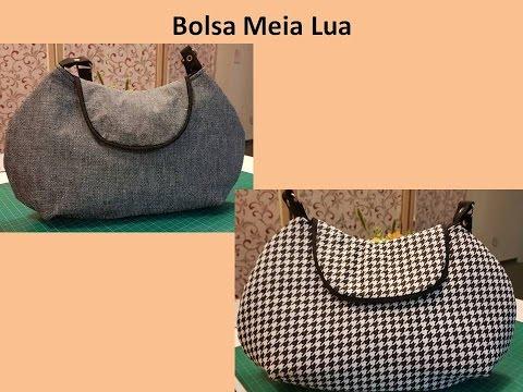 4743f7ccf Bolsa Meia Lua - YouTube
