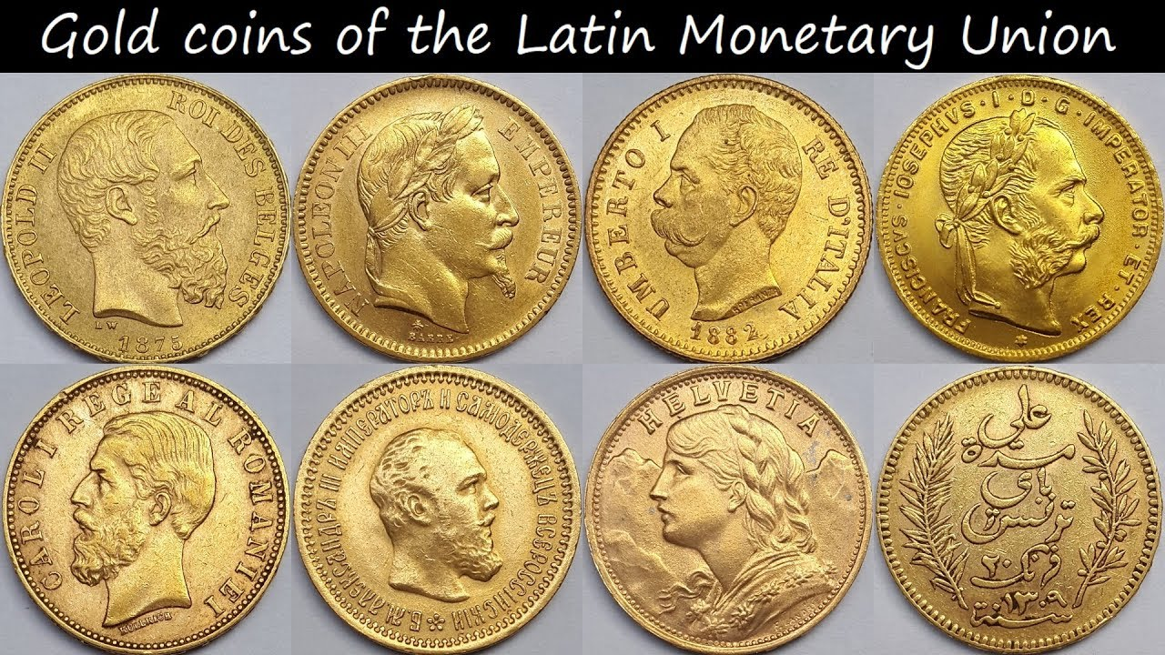 Gold Coins Of The Latin Monetary Union