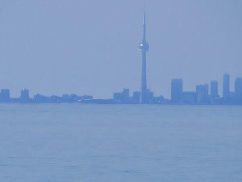 Toronto long distance telephoto video shows Flat Earth