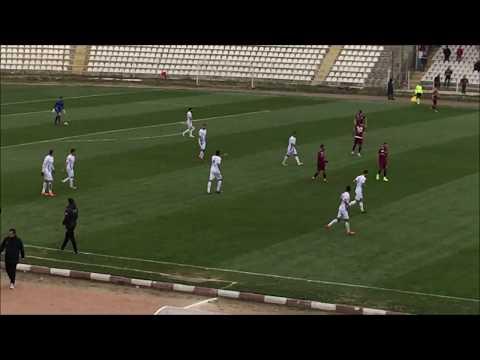 Tuzlaspor'lu Muhammed Akarslan ve Murat Yılmaz'ın Bandırmaspor'a attığı goller