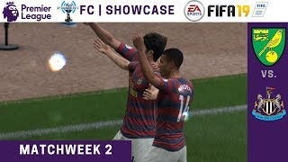 FIFA '19 | ESGNet FC | Premier League Showcase | Norwich vs. Newcastle United