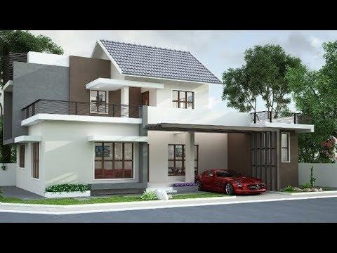 Cute Modern Double Floor House 1300 Sft For 13 Lakh