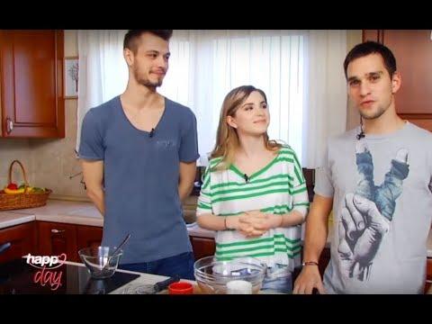 Happy Food cu Criss, Vlad si Rapha! Reteta: clatite americane