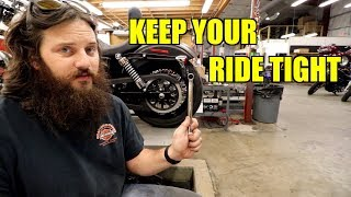 5 things you need to tighten on your harley
