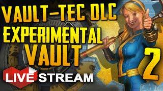 Fallout 4: Vault-Tec Workshop DLC | Building Vault Experiments! | Gameplay Live Stream