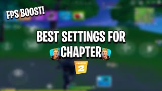 The New Best Settings For Fortnite Mobile   Fps Boost & More!
