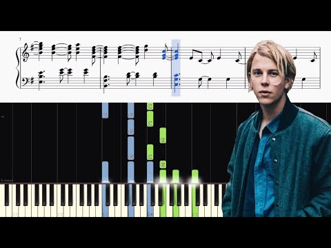 Tom Odell - Another Love - Background Piano Accompaniment (Tutorial)