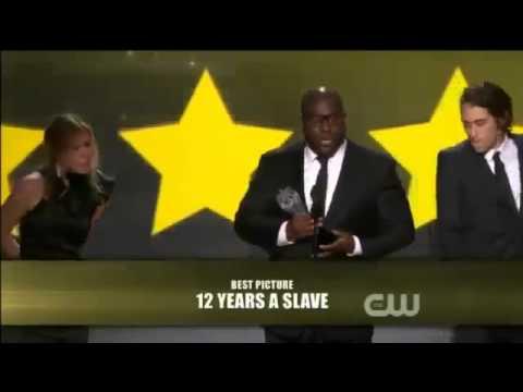 12 Years A Slave WINS Critics Choice Awards 2014   12 Years A Slave WINS Critics Choice Awards