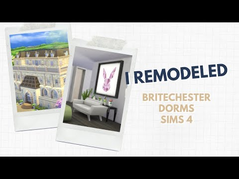 I REMODELED BRITECHESTER DORMS | SIMS 4 SPEED BUILD from YouTube · Duration:  11 minutes 51 seconds