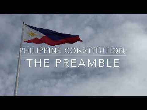 The Preamble 1987 constitution