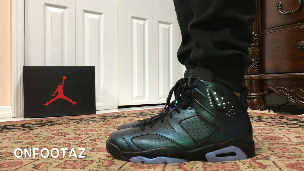 all star 6s on feet