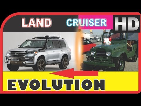 TOYOTA LAND CRUISER Evolution 1934 2018
