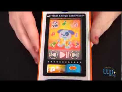 Touch & Swipe Baby Phone Toy From VTech