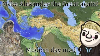 HoI4 - Make Alexander the Great Again - Modern day mod