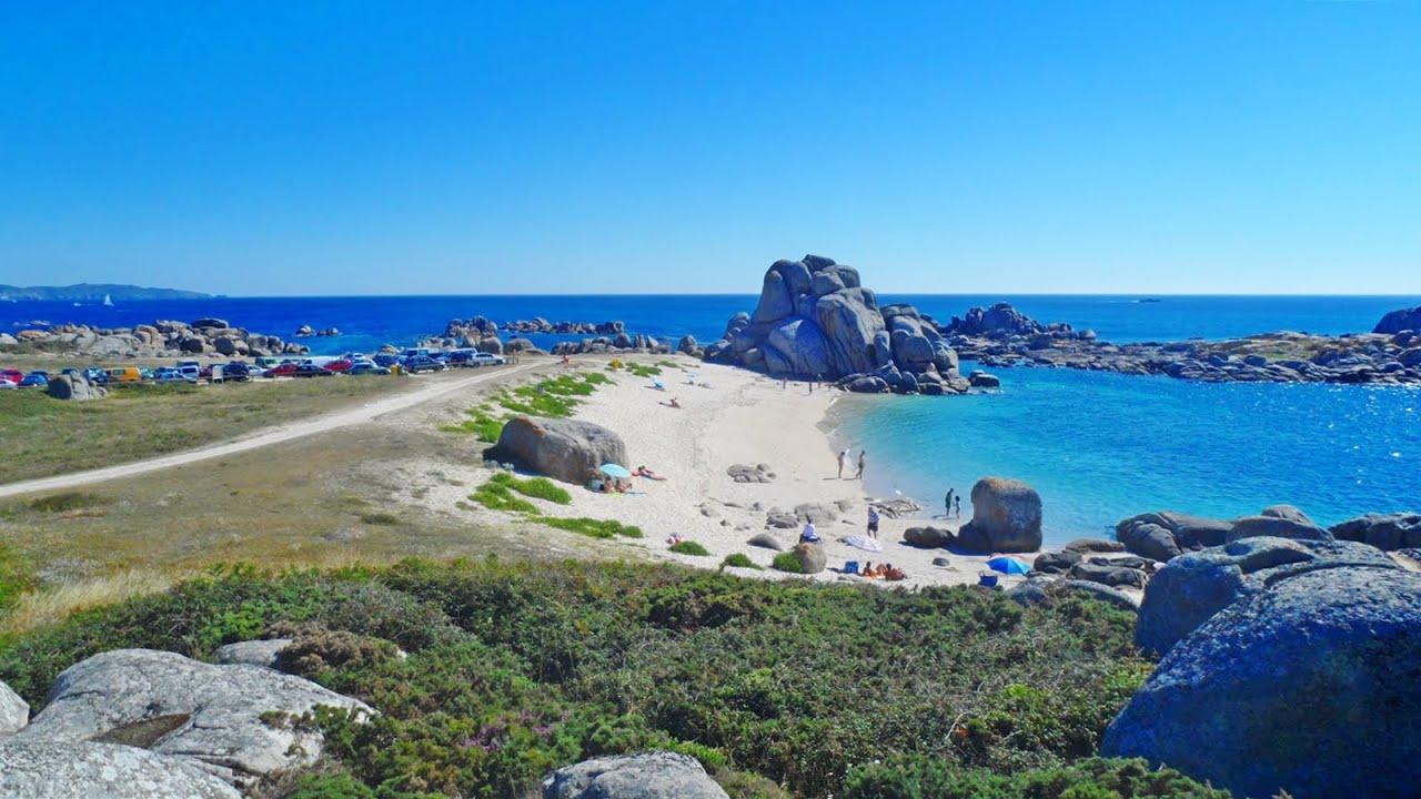 O Grove Spain  city photos gallery : Con Negro Beaches O Grove , Galicia Spain YouTube