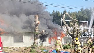 Mcminnville Fire Live Fire Training