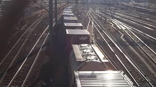 貨物列車 5094レ(EF66-30) 2018/01/27 花月園前踏切付近
