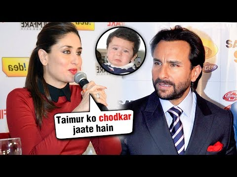 Kareena Kapoor Wants A ROMANTIC Date With Saif Ali Khan WITHOUT Son Taimur Ali Khan