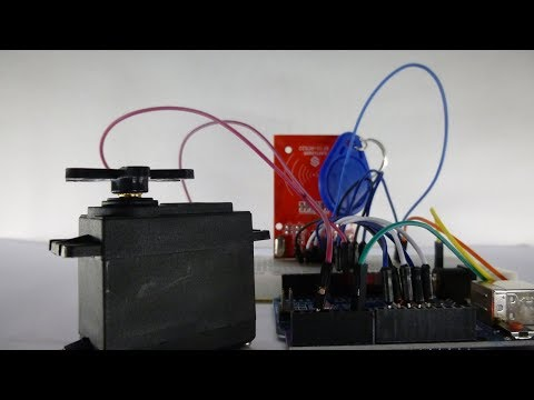 Häufig Arduino RFID Schloss mit Servomotor | Tutorial - ArduinoLab - YouTube JR72