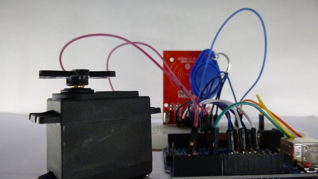 Hervorragend Arduino RFID Schloss mit Servomotor | Tutorial - ArduinoLab - YouTube EL88