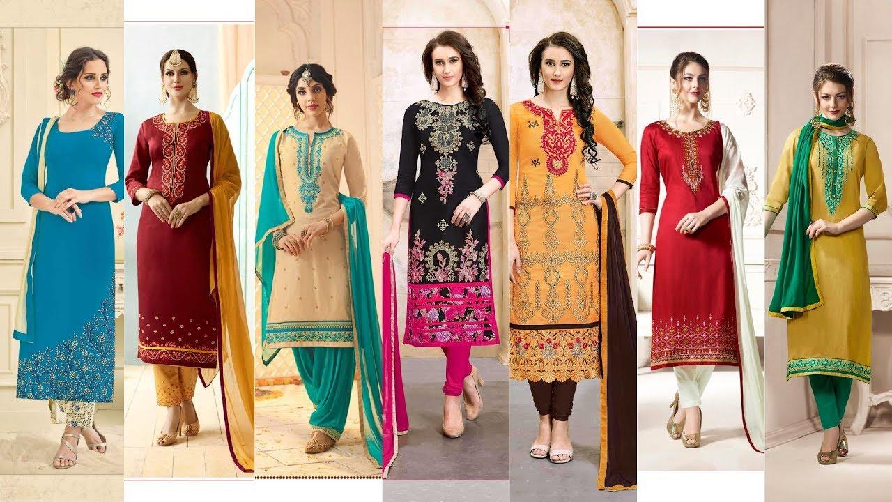 Best Salwar Kameez Colour Combinations Contrast Matching ...