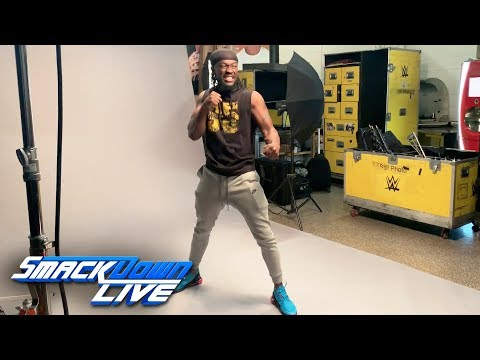 Go behind the scenes of Kofi Kingston's WrestleMania photoshoot:  Exclusive, March 26, 2019