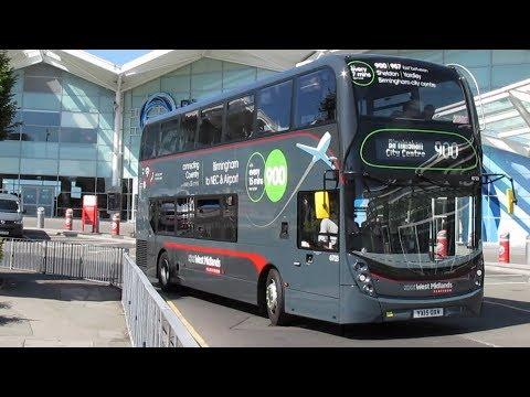 Trains & Buses at Birmingham International Airport