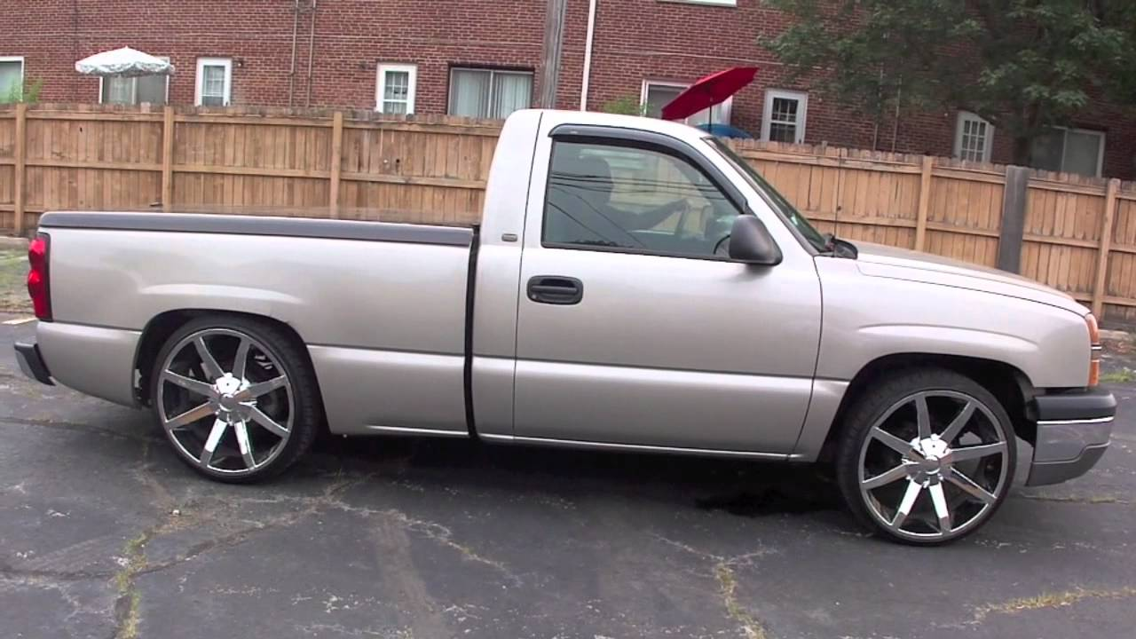 Bagged Chevy Silverado For Sale  YouTube