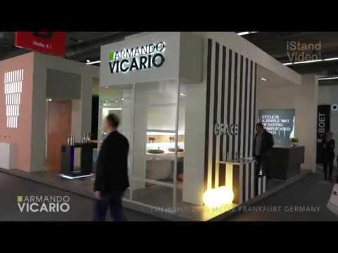 Video stand ARMANDO VICARIO ISH march 2015 MESSE FRANKFURT GERMANY iStandVideo.