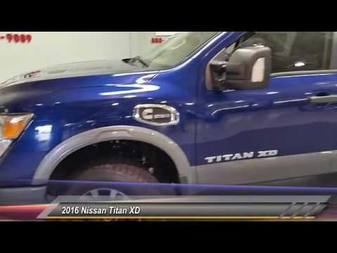 2016 Nissan Titan XD Denison Sherman Durant GN508746